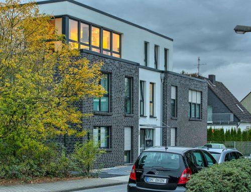 2013, Duisburg-Rumeln, Mehrfamilienhaus Quadra