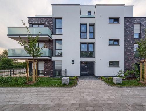 2017, Duisburg-Rumeln, Mehrfamilienhäuser