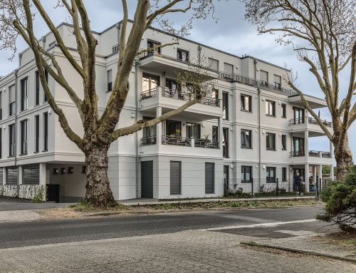 2018, Moers, Mehrfamilienhaus Platanenhof