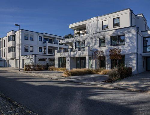 2020, Moers-Kapellen, Mehrfamilienhäuser Ensemble