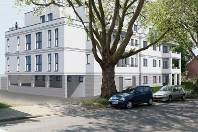 2018 Mehrfamilienhaus Architekt Moers Platanenhof-2